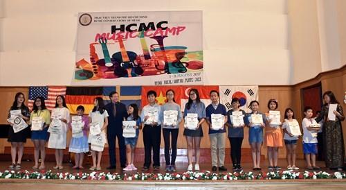 Ciudad Ho Chi Minh ofrece un espacio de disfrute musical para los jóvenes - ảnh 1