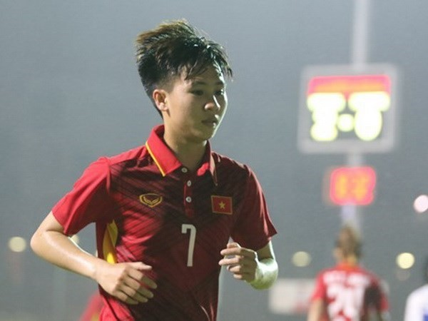 FIFA enaltece los logros de una futbolista vietnamita - ảnh 1