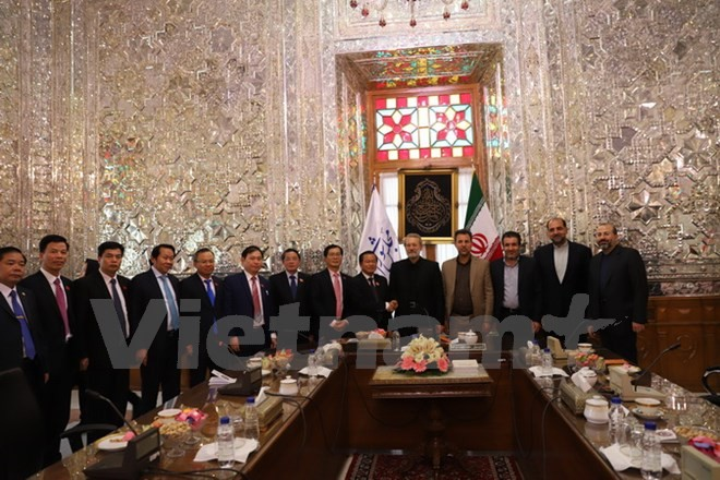 Vietnam e Irán coinciden en fomentar la cooperación legislativa - ảnh 1