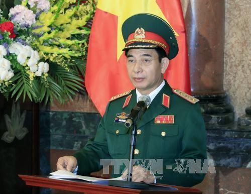 Vietnam reafirma el papel activo en el plano internacional en materia de defensa - ảnh 1