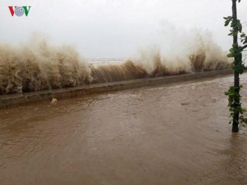 El tifón Doksuri causa pérdidas humanas y materiales en las provincias centrovietnamitas - ảnh 1