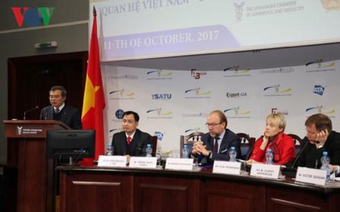 Vietnam y Ucrania con vistas a su cooperación económica más avanzada - ảnh 1
