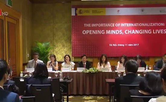 Relaciones Vietnam-España avanzan más en la educación  - ảnh 1