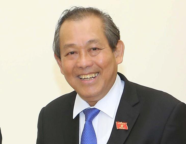 Vice premier vietnamita continúa su agenda en Corea del Sur - ảnh 1