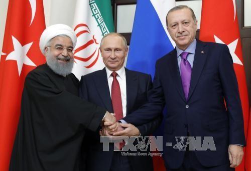 Rusia, Turquía e Irán buscan poner fin a la guerra siria - ảnh 2