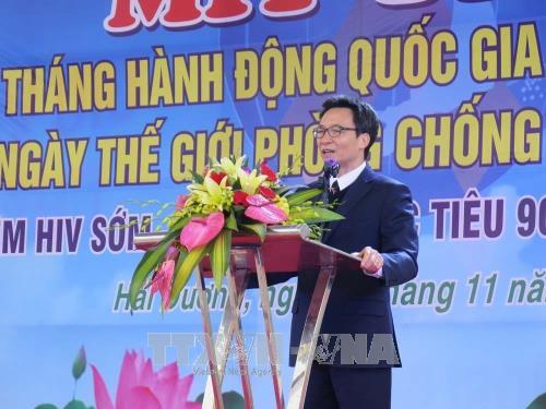 Vietnam decidido a acabar con el VIH/SIDA en 2030 - ảnh 1