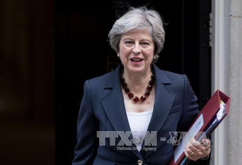 Frustran intento terrorista contra Theresa May - ảnh 1