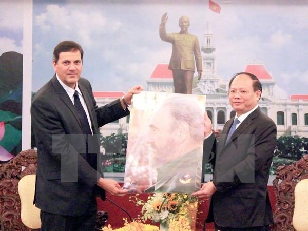 Ciudad Ho Chi Minh interesada en colaborar con Cuba y Japón - ảnh 1