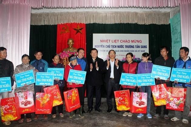 Prosiguen las actividades del Año Nuevo Lunar a favor de los más necesitados en Vietnam - ảnh 1