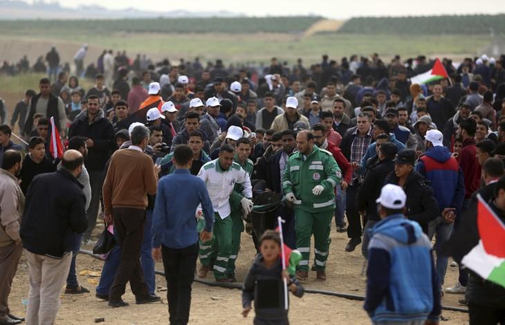 Palestina declara luto nacional tras enfrentamientos entre manifestantes y ejército israelí - ảnh 1