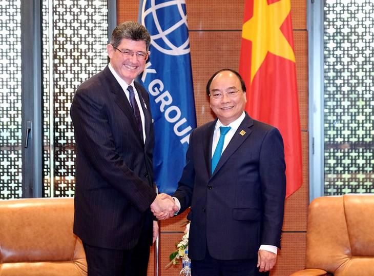 Primer ministro de Vietnam: Banco Mundial figura entre socios importantes del país - ảnh 1