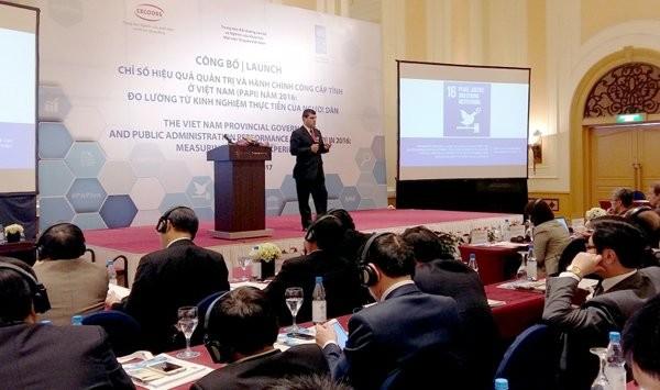 Publican indicador de gestión para la administración pública en Vietnam - ảnh 1