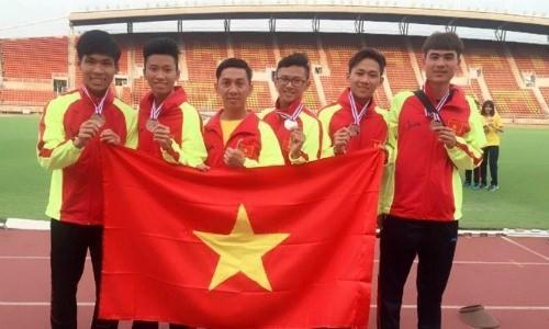 Vietnam ocupa segundo lugar en torneo regional de atletismo juvenil - ảnh 1