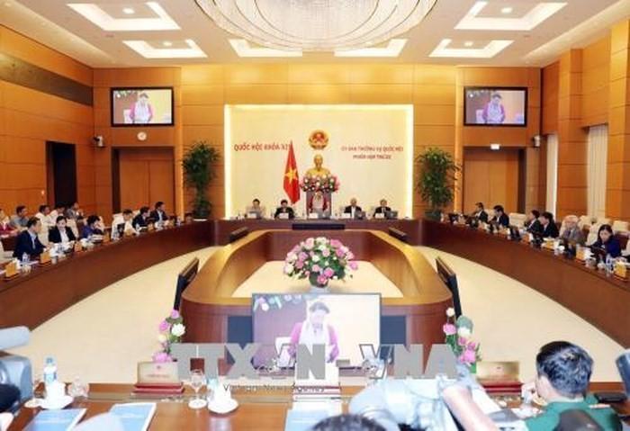 Inauguran la XXIII reunión del Comité Permanente del Parlamento vietnamita - ảnh 1