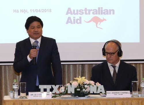 Presentan en una feria productos agropecuarios de Vietnam y Australia - ảnh 1