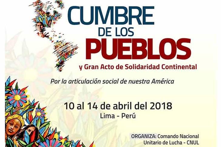 Perú y Cuba ocupan el primer día de la Cumbre de los Pueblos - ảnh 1