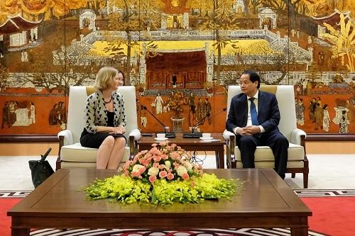 Hanói interesado en cooperar con Nueva Zelanda en múltiples sectores - ảnh 1