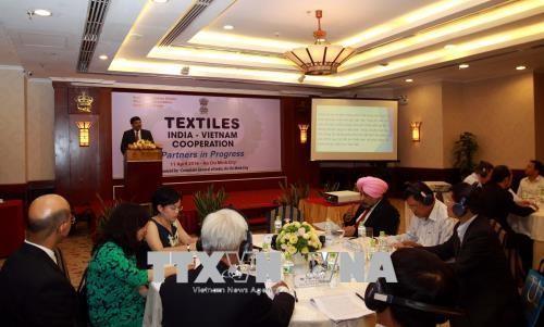 Vietnam y la India cuentan con gran potencial de cooperación textil - ảnh 1
