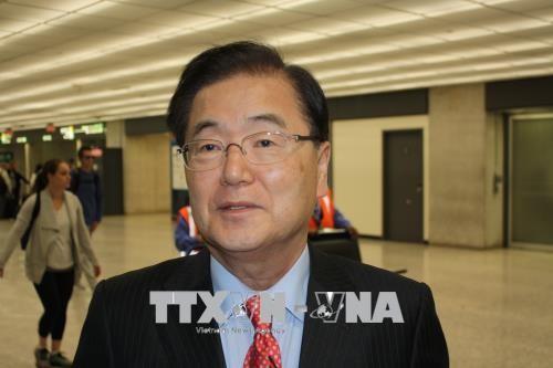Washington, Seúl y Tokio hacen esfuerzos para preparar la Cumbre con Pyongyang - ảnh 1