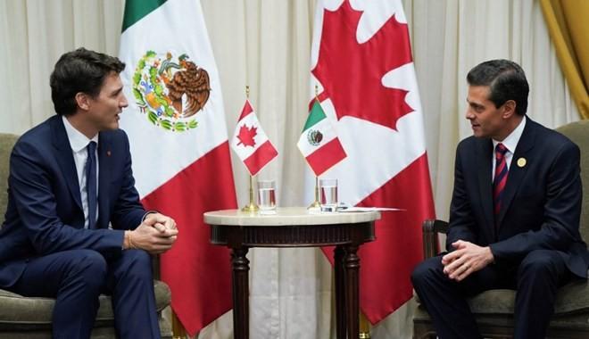 México y Canadá apuestan por impulsar el nuevo TLCAN  - ảnh 1