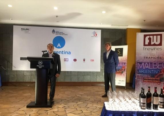 VIII Día Mundial de Malbec mantiene promover vino típico argentino en Vietnam - ảnh 2