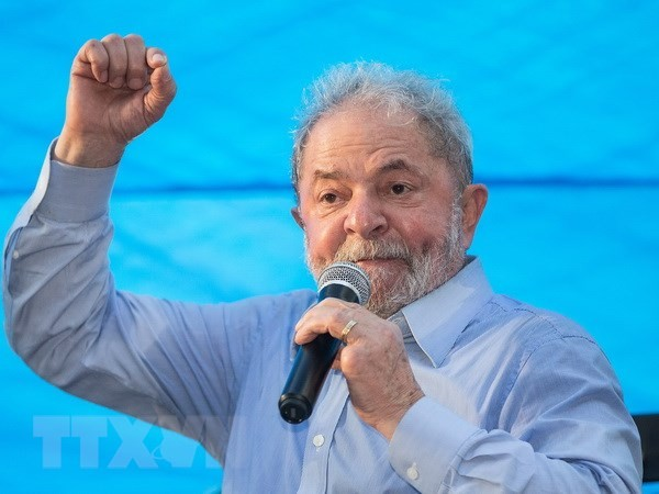 Lula da Silva encabeza en encuestas electorales en Brasil - ảnh 1
