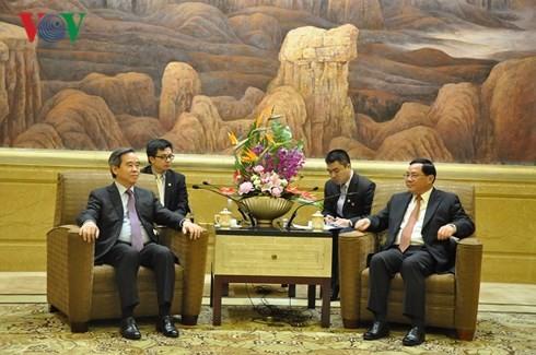 Vietnam interesado en impulsar cooperación con Shanghái  - ảnh 1