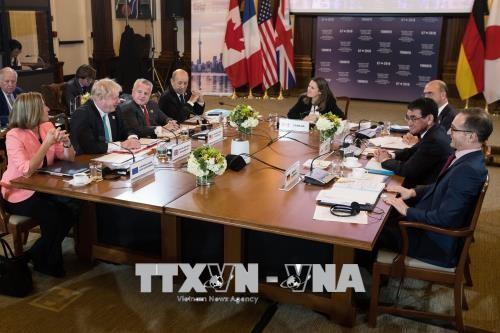 Inauguran Conferencia ministerial de Relaciones Exteriores y de Seguridad del G7 - ảnh 1