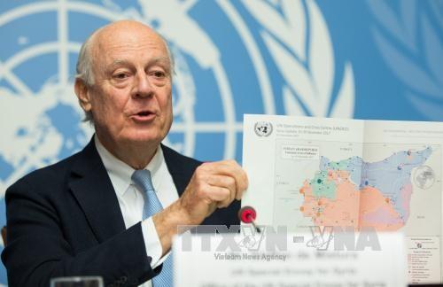 ONU y UE piden poner fin a la crisis siria por vía de diálogos - ảnh 1