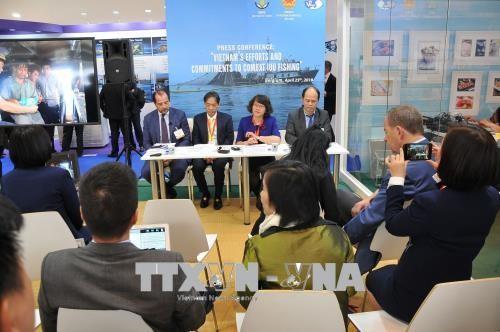 Vietnam con compromisos contra la pesca ilegal - ảnh 1