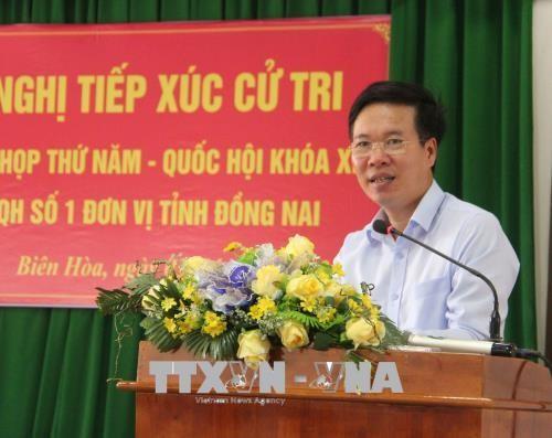 Electores vietnamitas aportan ideas en vísperas del V período de sesiones parlamentarias - ảnh 1