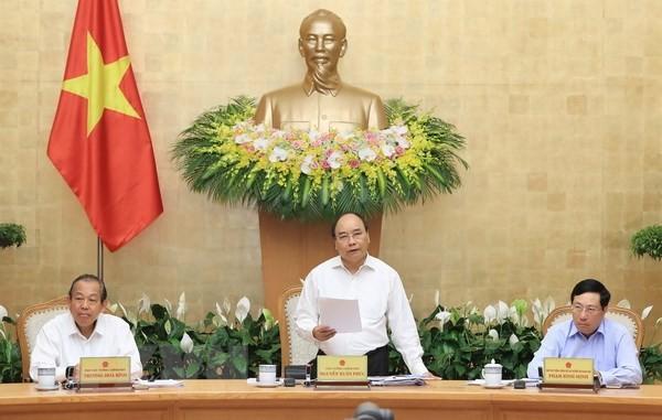 Gobierno vietnamita determinado a cumplir tareas sustanciales del 2018 - ảnh 1