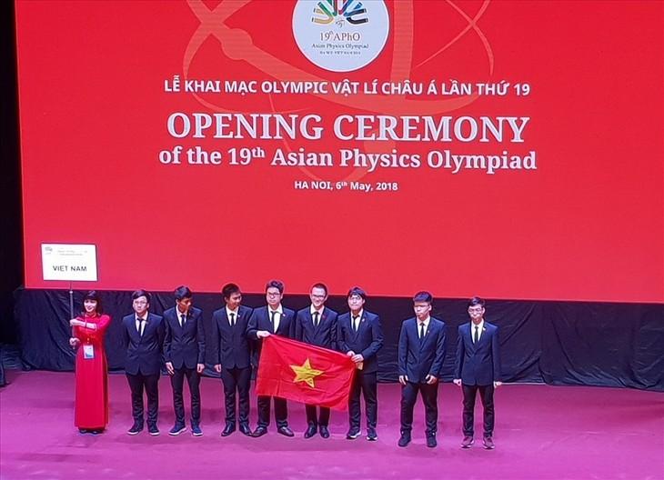 Inauguran la XIX Olimpiada Asiática de Física  - ảnh 1