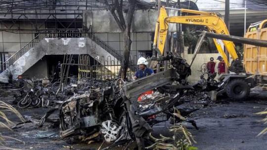 Indonesia vive otro ataque suicida en Java Oriental  - ảnh 1