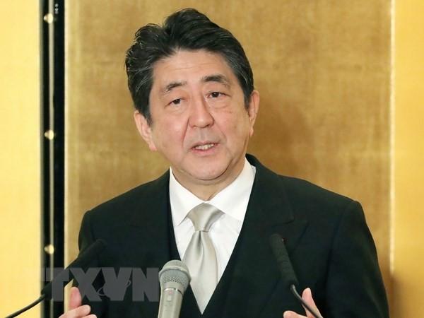 Aumenta la intención de voto a favor del Gobierno de Shinzo Abe - ảnh 1