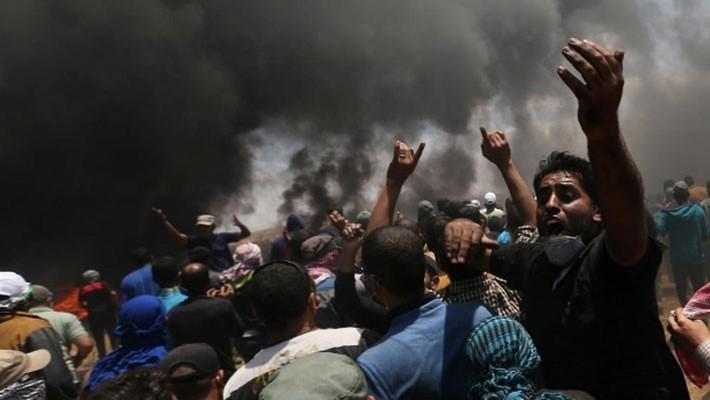 Numerosas bajas a causa de los enfrentamientos sangrientos en la Franja de Gaza  - ảnh 1