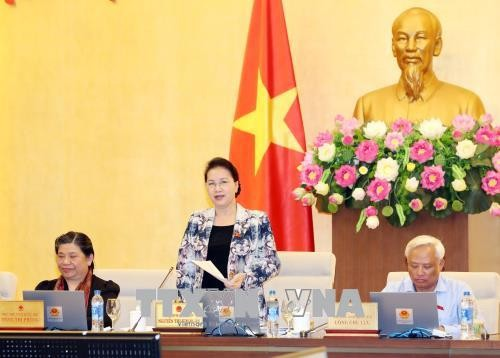 Culmina la XXIV reunión del Comité Permanente del Parlamento vietnamita - ảnh 1