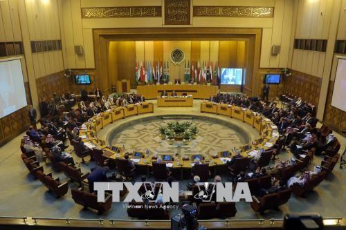 Cancilleres árabes discuten sobre el traslado de la embajada estadounidense a Jerusalén - ảnh 1