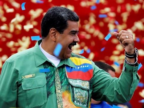 Líderes en el mundo felicitan la victoria del presidente venezolano - ảnh 1