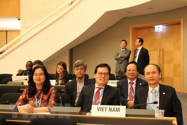Vietnam comparte proyectos sanitarios nacionales ante la Asamblea Mundial de la Salud - ảnh 1
