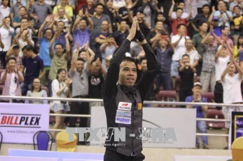 Billarista vietnamita logra premio de oro en Torneo Internacional de Carambola a tres bandas - ảnh 1