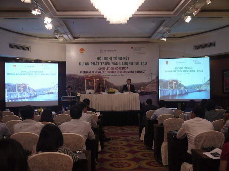 Banco Mundial financia el desarrollo de energías renovables en Vietnam - ảnh 1