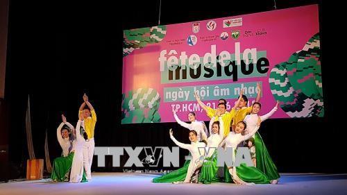 Ciudad Ho Chi Minh celebra la Fiesta de la Música de Francia  - ảnh 1