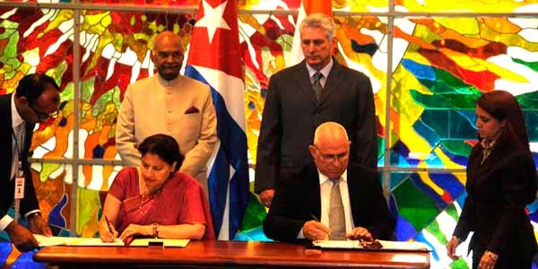 Cuba y la India apuestan por revitalizar la cooperación  - ảnh 1