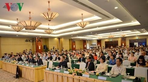 Culminan Foro de conexión de emprendedores vietnamitas  - ảnh 1