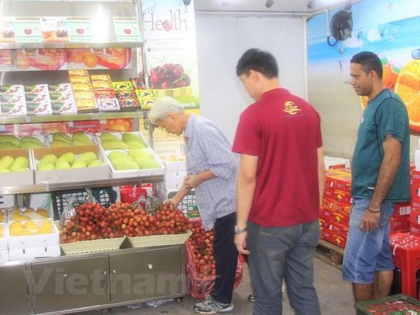Excelente acogida al lichi vietnamita en el mercado malasio - ảnh 1