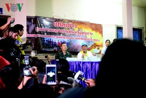Tailandia reanuda rescate de niños futbolistas - ảnh 1