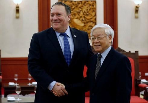 Vietnam y Estados Unidos por vigorizar relaciones de amistad y cooperación  - ảnh 1