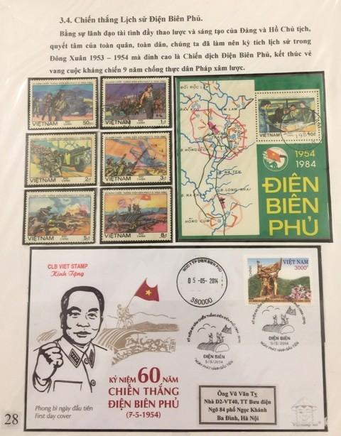 Sellos postales siguen en compañía con el desarrollo de Vietnam - ảnh 2