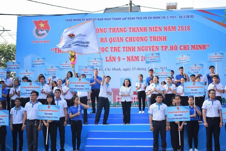 Movimientos voluntarios en pro del avance socioeconómico de Ciudad Ho Chi Minh - ảnh 1